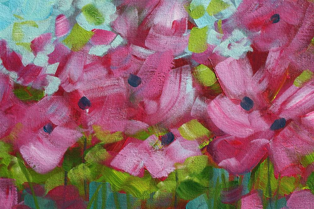 """Petals in the Wind"" original fine art by Sage Mountain"