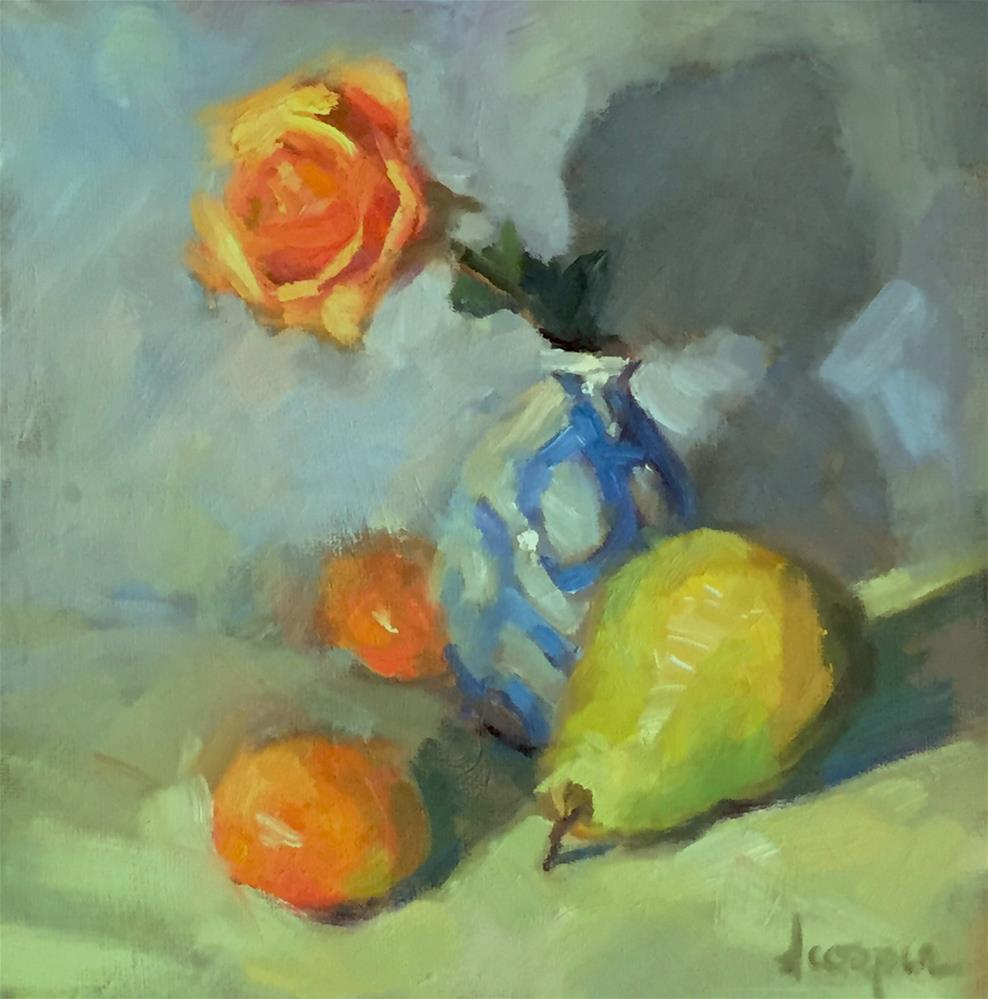 """Color Study"" original fine art by Dana Cooper"
