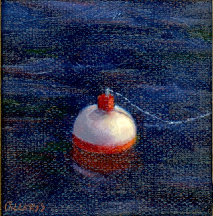 """Bobber"" original fine art by Susanne Billings"
