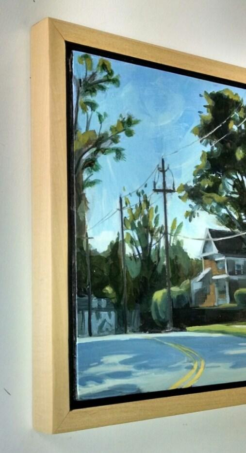 """Montford Avenue"" original fine art by Nat Dickinson"