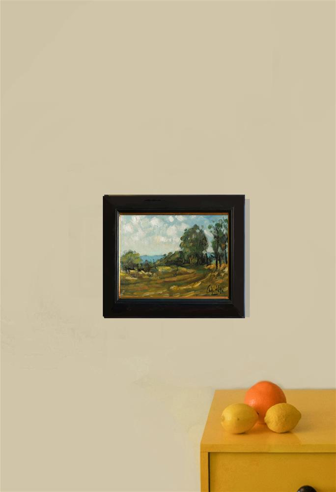 """""""Landscape in Warm Colours, New South Wales"""" original fine art by Andre Pallat"""