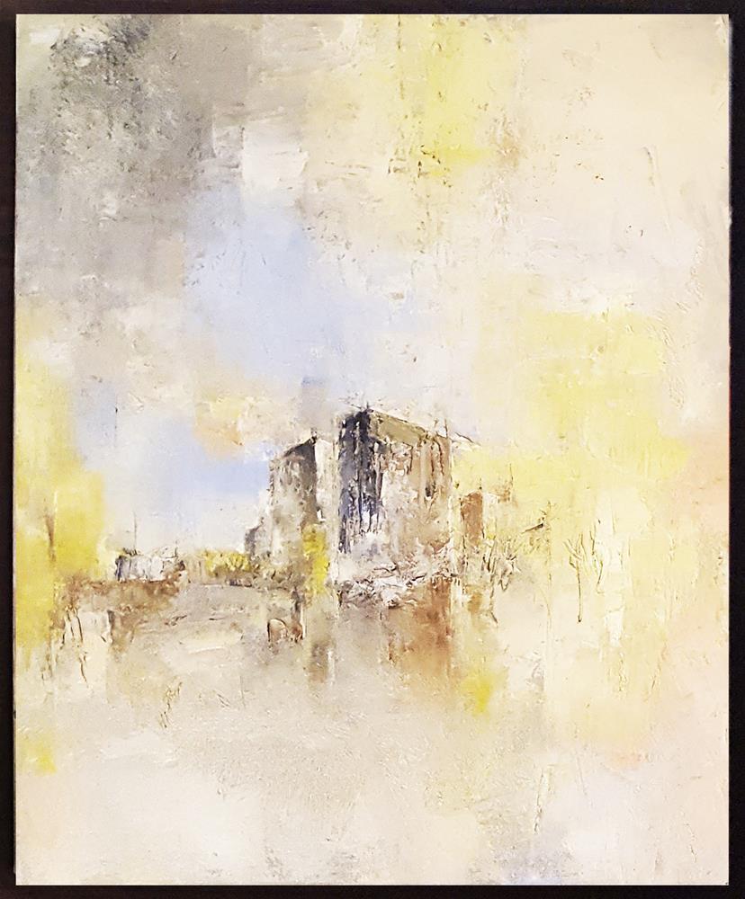 """Toronto'memory"" original fine art by Teresa Yoo"