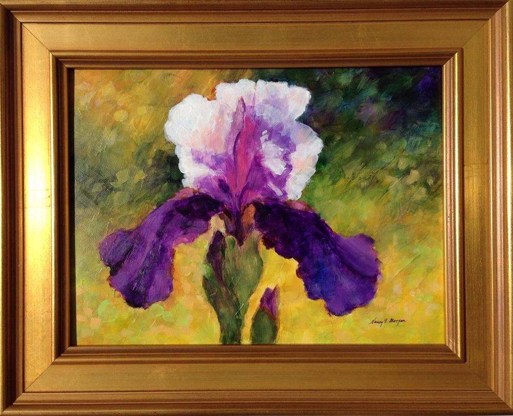 """Full Bloom"" original fine art by Nancy F. Morgan"