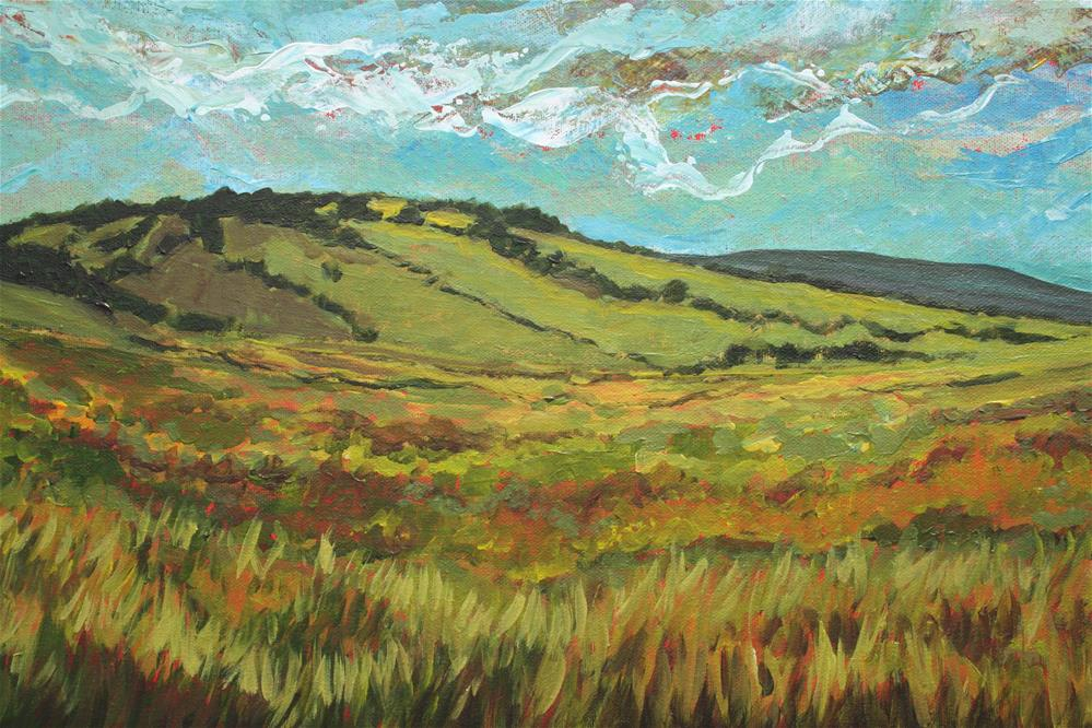"""Hill Country Farming"" original fine art by Sage Mountain"