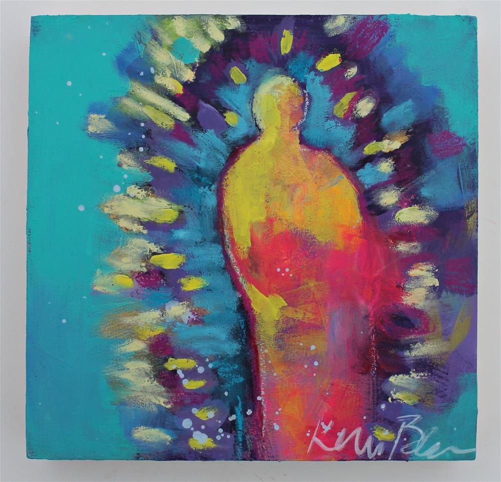 """When You Become Your Own Saint "" original fine art by Kerri Blackman"