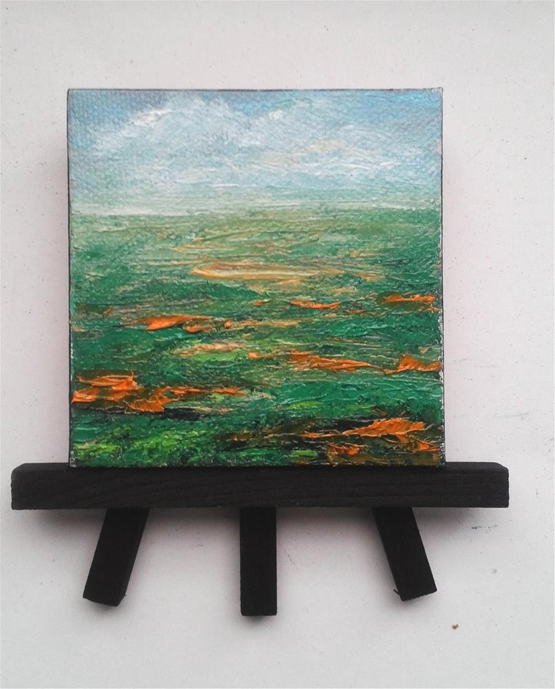 """Landscape Grass"" original fine art by Camille Morgan"