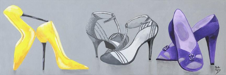 """High Heel Fantasy"" original fine art by Carla Hefley"