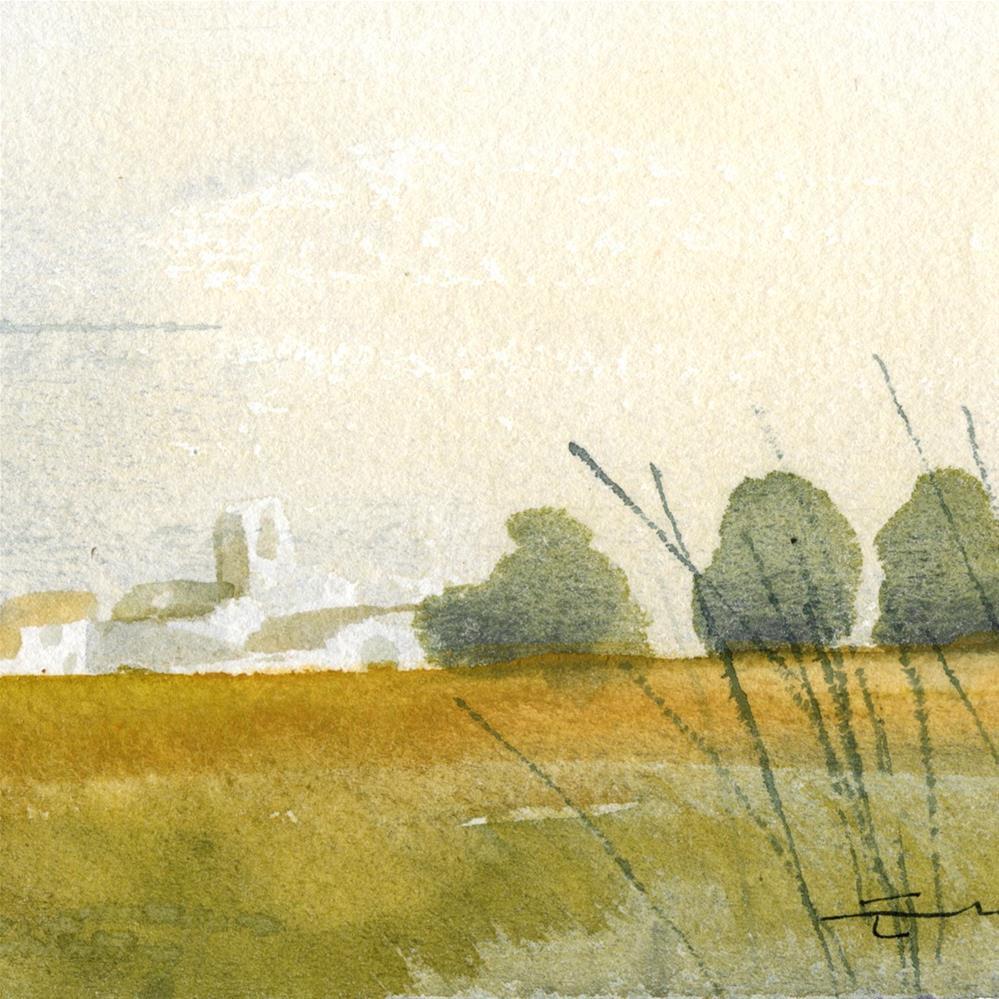 """Countryside 14"" original fine art by Emilio López"