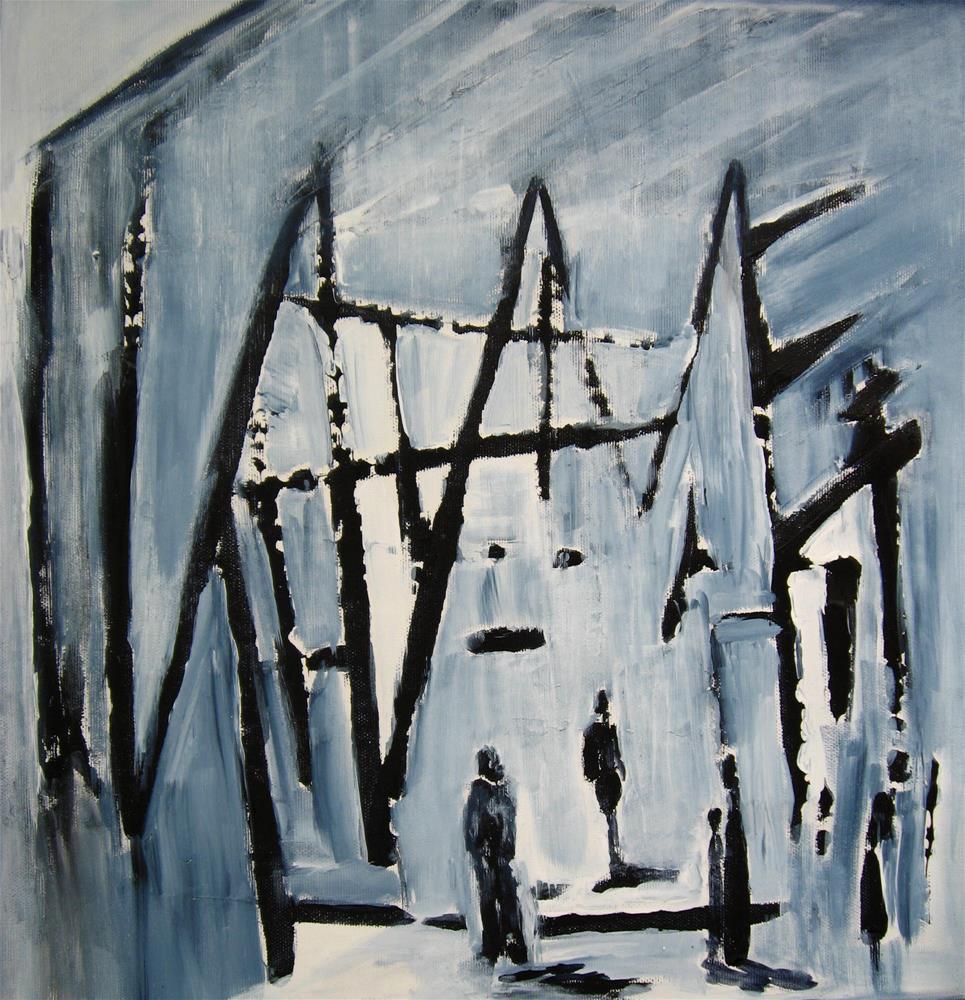 """Visitors 2"" original fine art by Alina Frent"