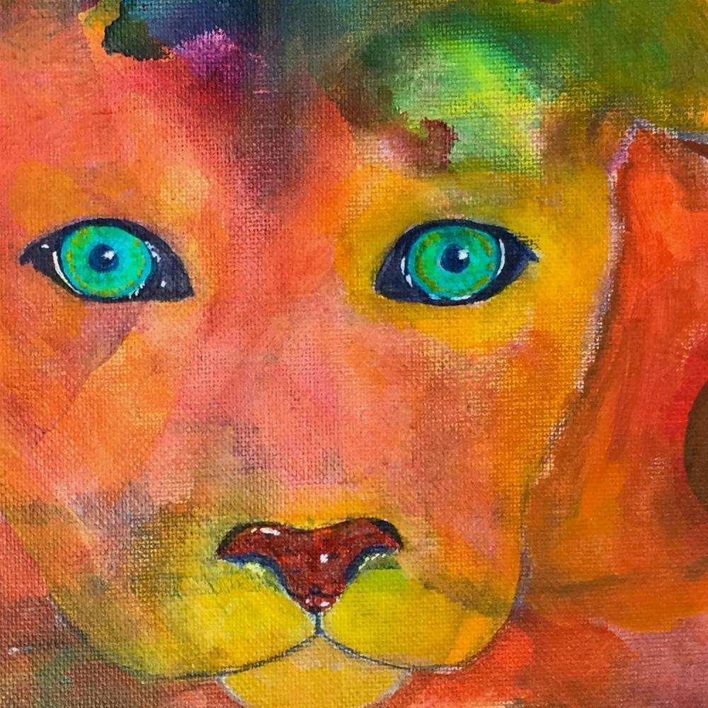 """""""Keeping Watch"""" original fine art by Silke Powers"""