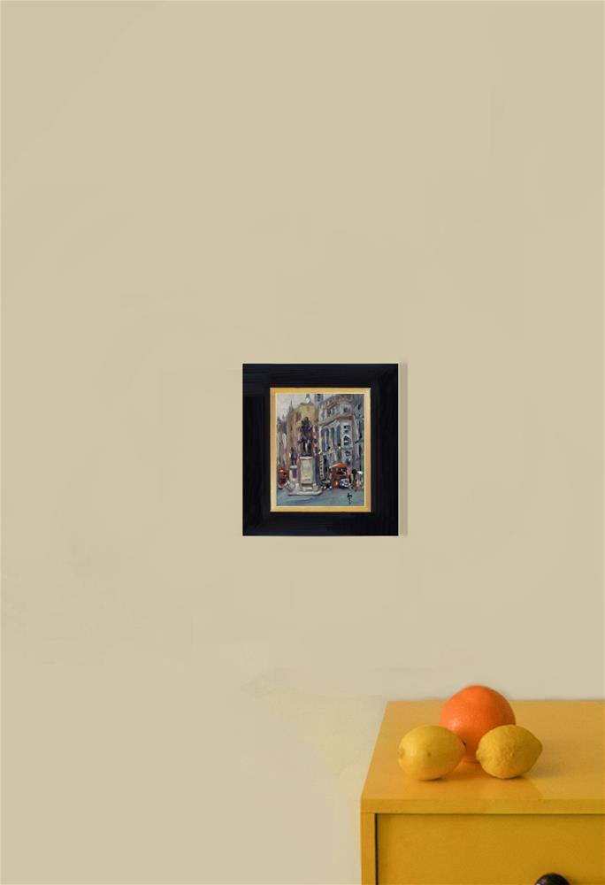 """'Whitehall'"" original fine art by Andre Pallat"