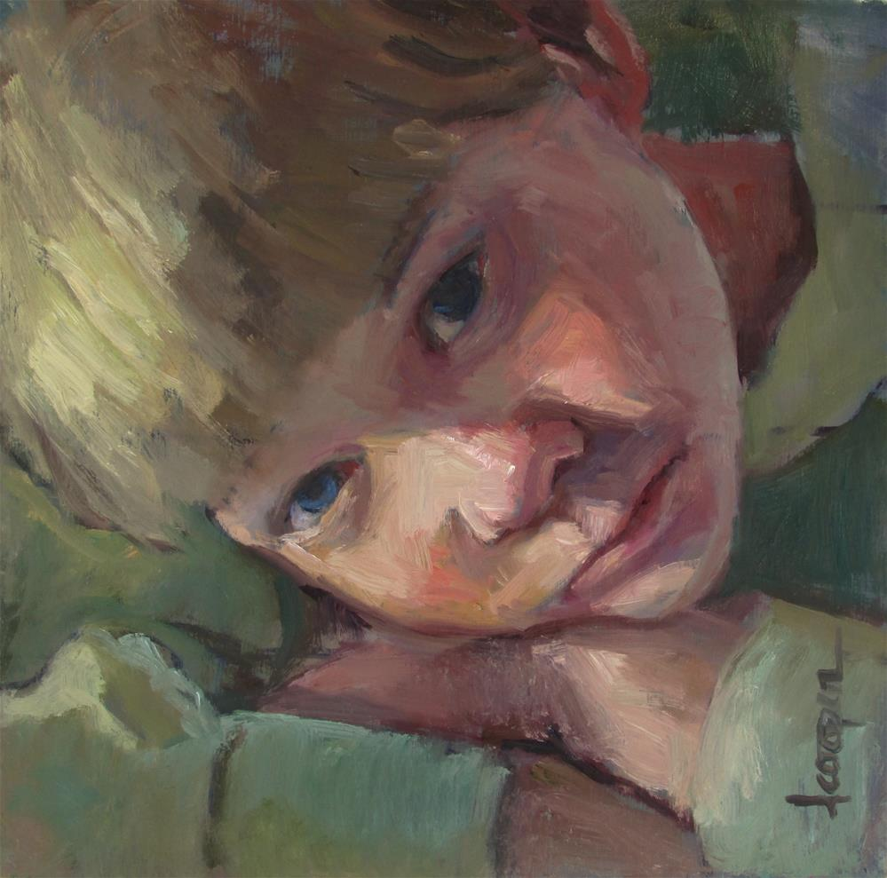 """Portrait of a Boy"" original fine art by Dana Cooper"