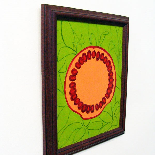 """Fruitful V"" original fine art by Bonnie Fillenwarth"