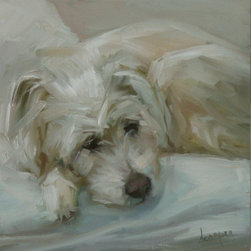 """In Repose"" original fine art by Dana Cooper"