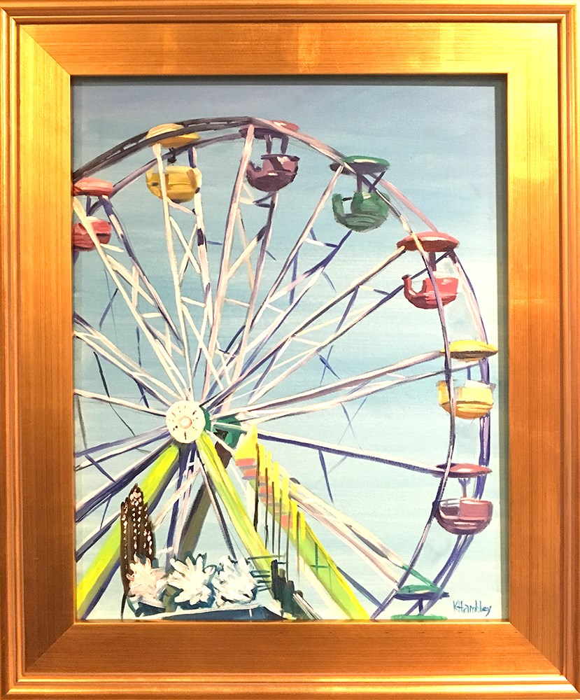 """Save Ferris "" original fine art by Katherine Hambley"