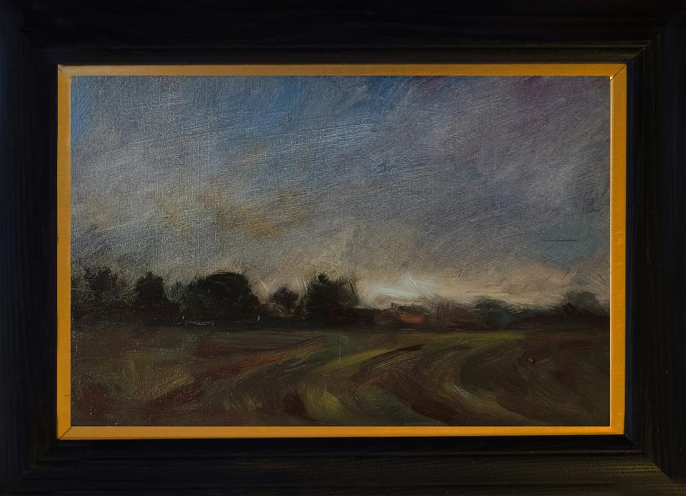 """Landscape with Darker Tones"" original fine art by Andre Pallat"