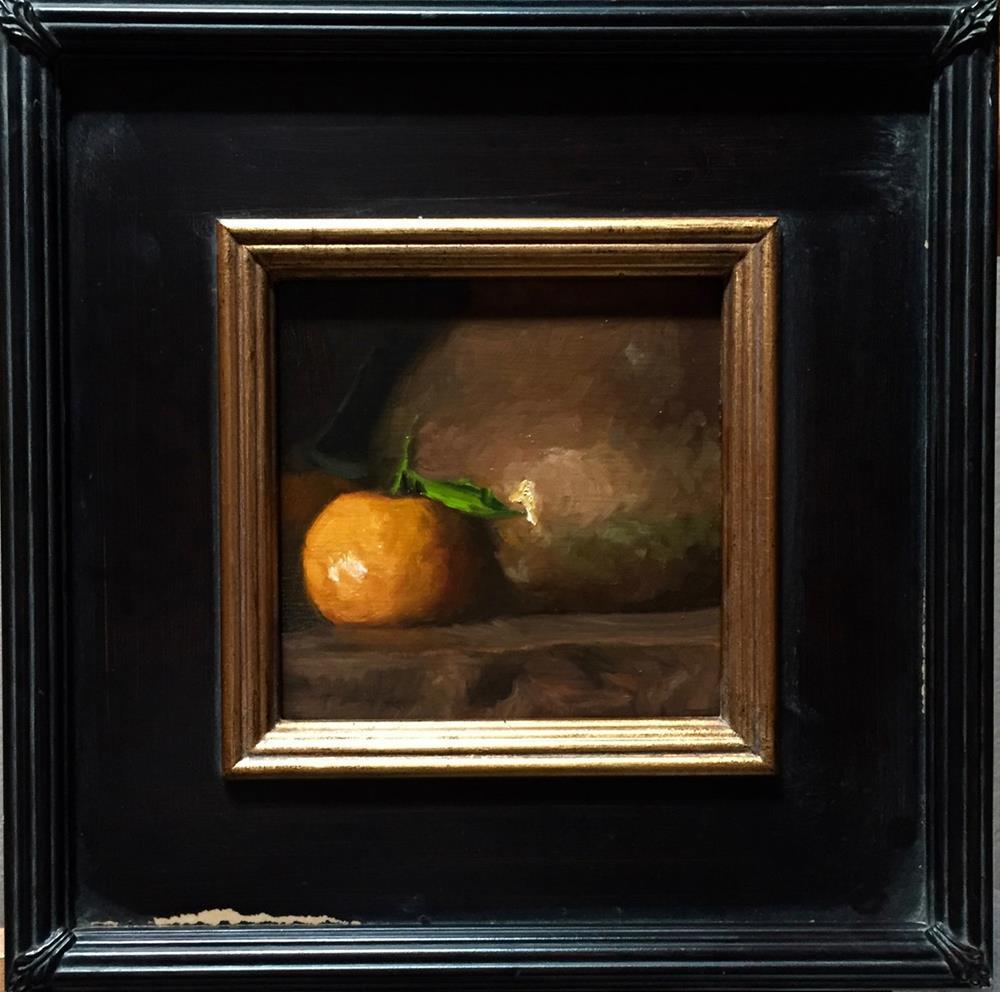 """Orange glow"" original fine art by max moss"