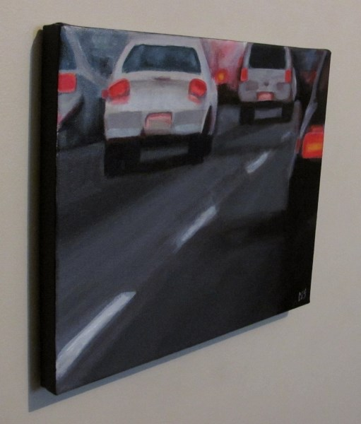 """Freeway"" original fine art by ~ces~ Christine E. S. Code"