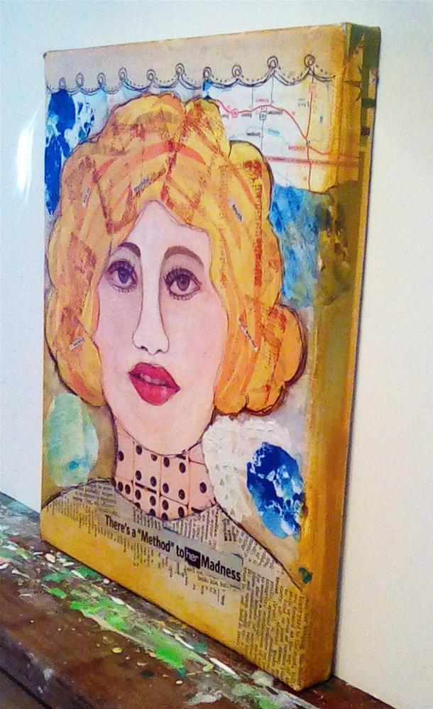 """METHOD TO HER MADNESS"" original fine art by Cindy Zoglmann"