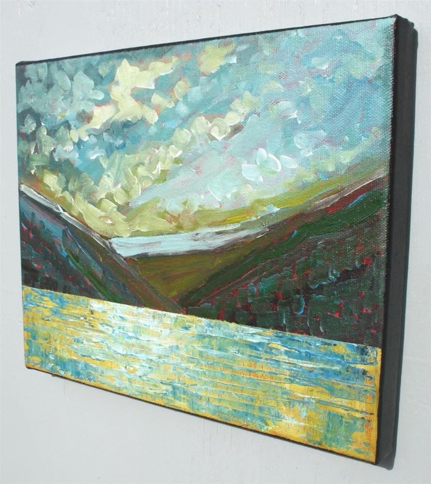 """Mountain Song"" original fine art by Sage Mountain"