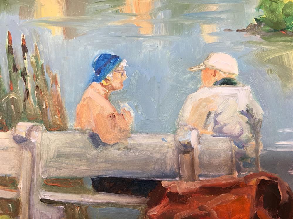 """Canadian Couple"" original fine art by Lynne Schulte"