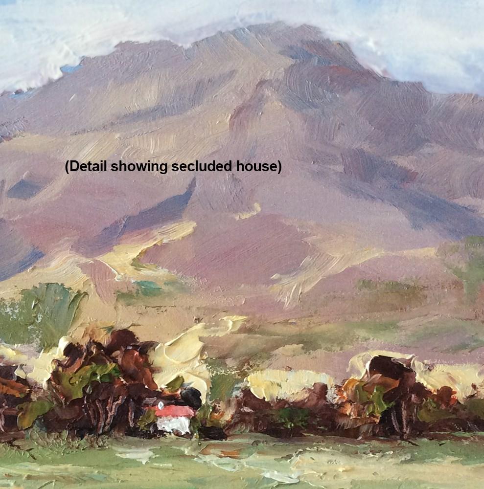 """VANISHING VISTA"" original fine art by Tom Brown"