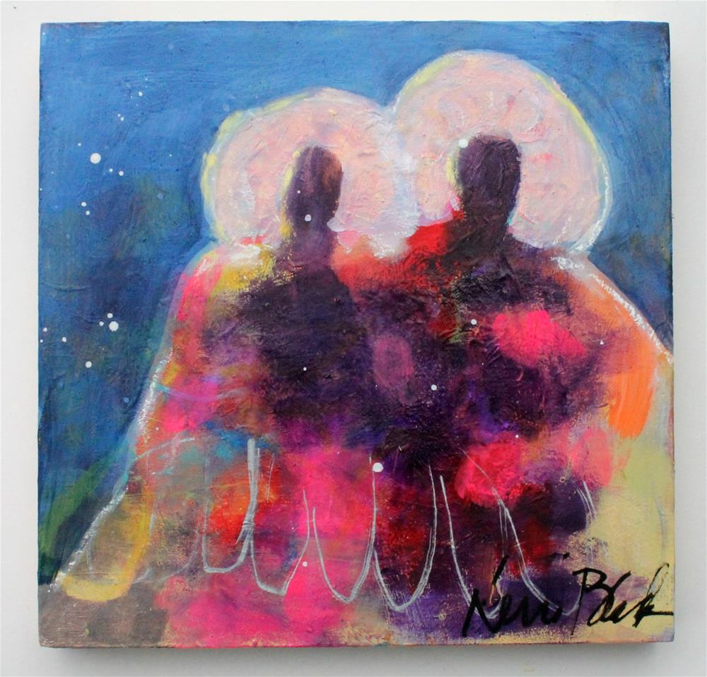 """Two As One "" original fine art by Kerri Blackman"