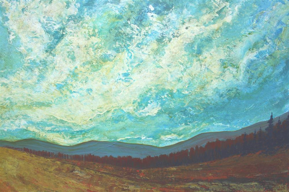 """Toward the Light"" original fine art by Sage Mountain"