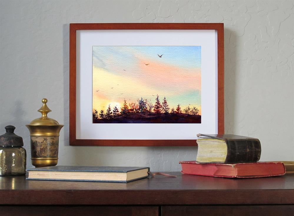 """Until Tomorrow"" original fine art by Linda Henry"