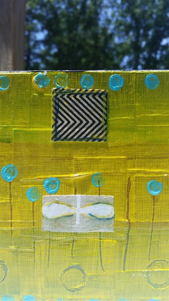 """Yellow I"" original fine art by Christy Tremblay"