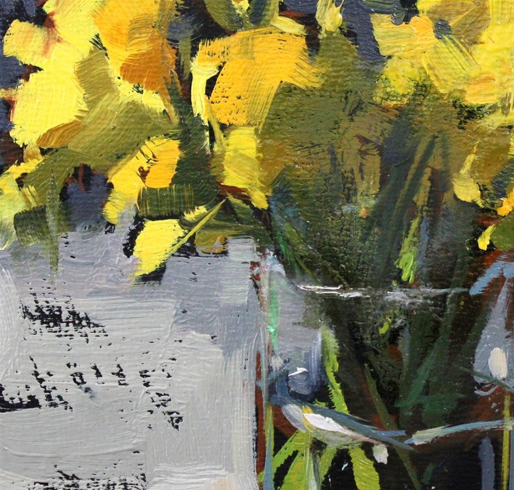"""Spring Daffodils"" original fine art by Cathleen Rehfeld"