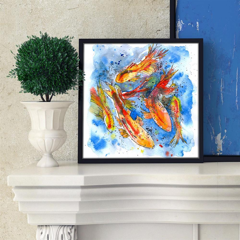 """Koi Dreaming"" original fine art by Tonya Doughty"