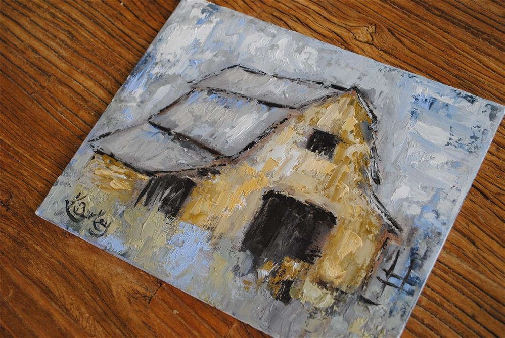"""Old Tin Roof"" original fine art by Kelly Berkey"