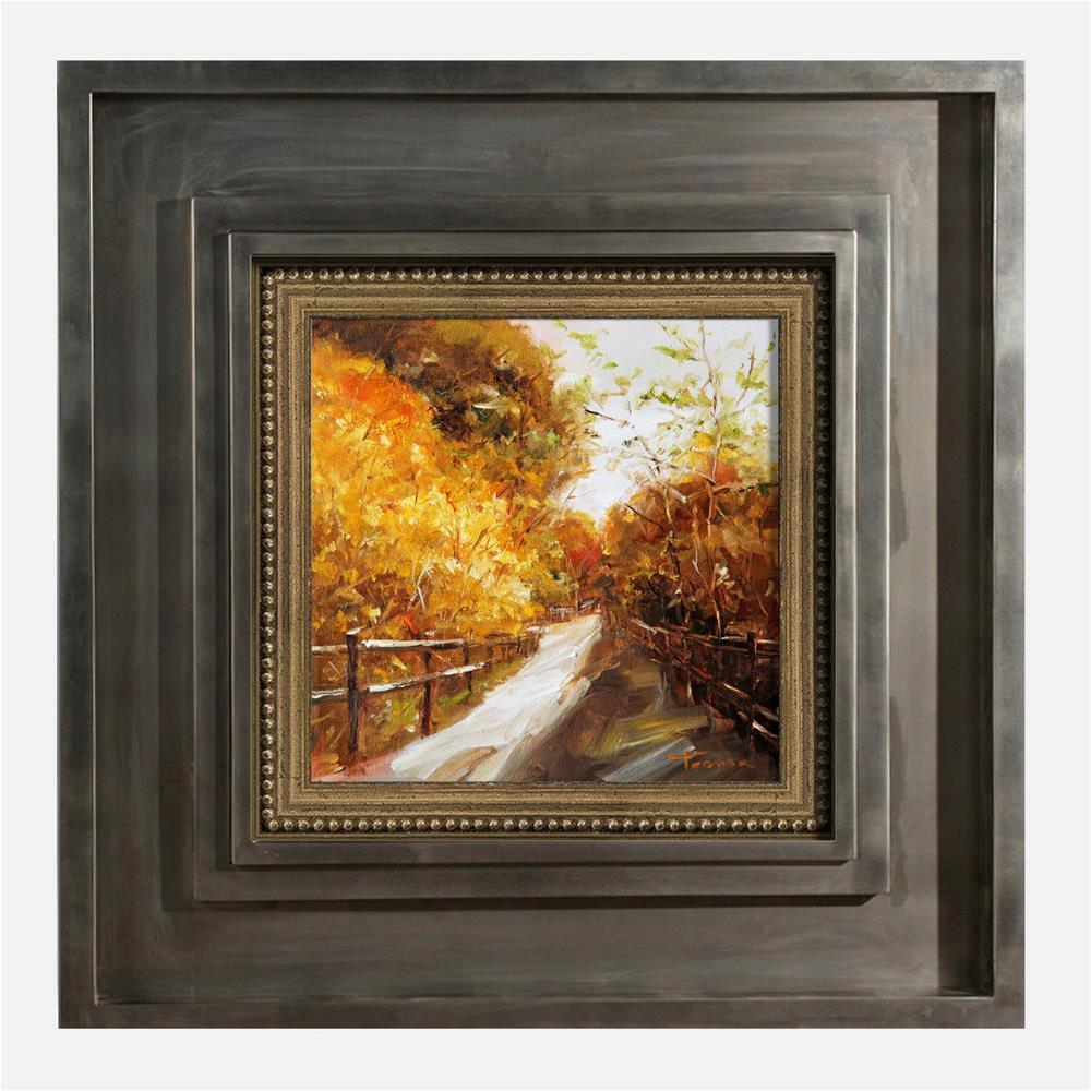 """Autumn Melody"" original fine art by Teresa Yoo"