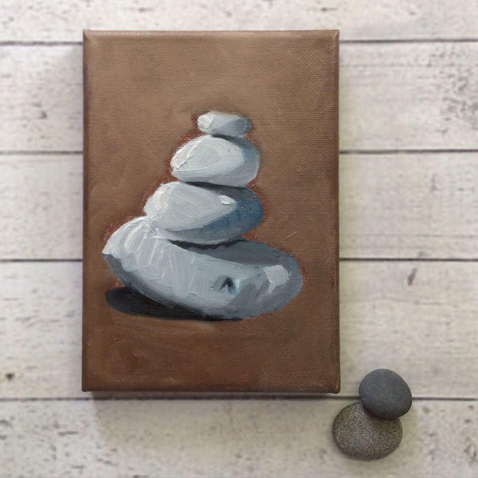 """""""Balance"""" original fine art by Tricia Granzier"""