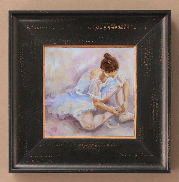 """Ballerina Dreams"" original fine art by Carol DeMumbrum"