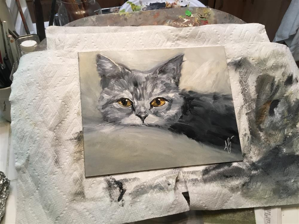 """Shades of Gray"" original fine art by Annette Balesteri"