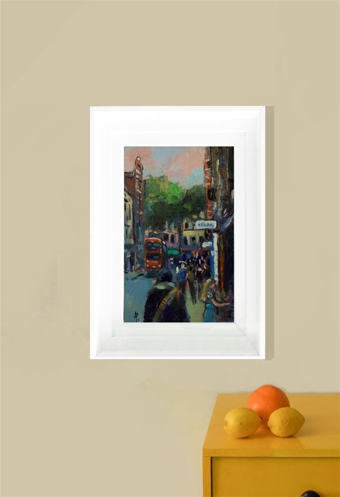 """'Denmark Street'"" original fine art by Andre Pallat"