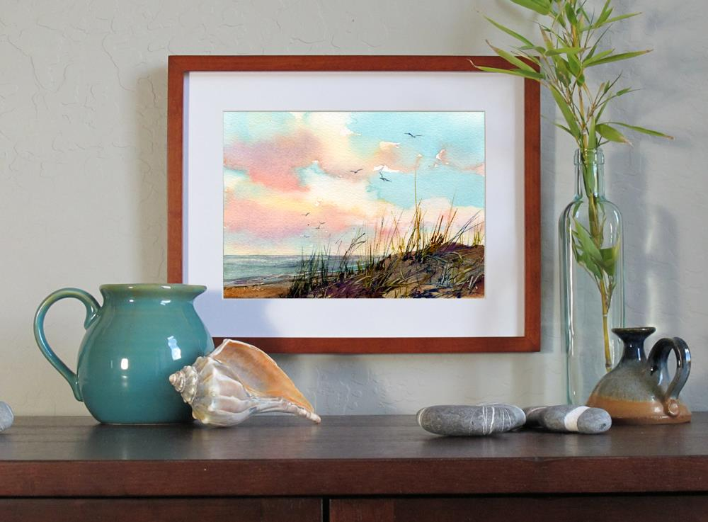 """Avalon"" original fine art by Linda Henry"