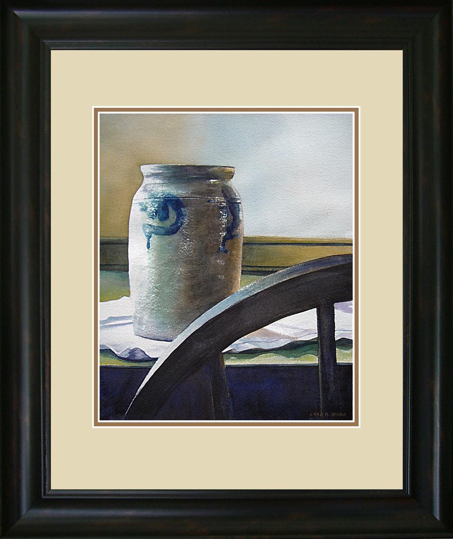 """Peace of Americana"" original fine art by Kara K. Bigda"