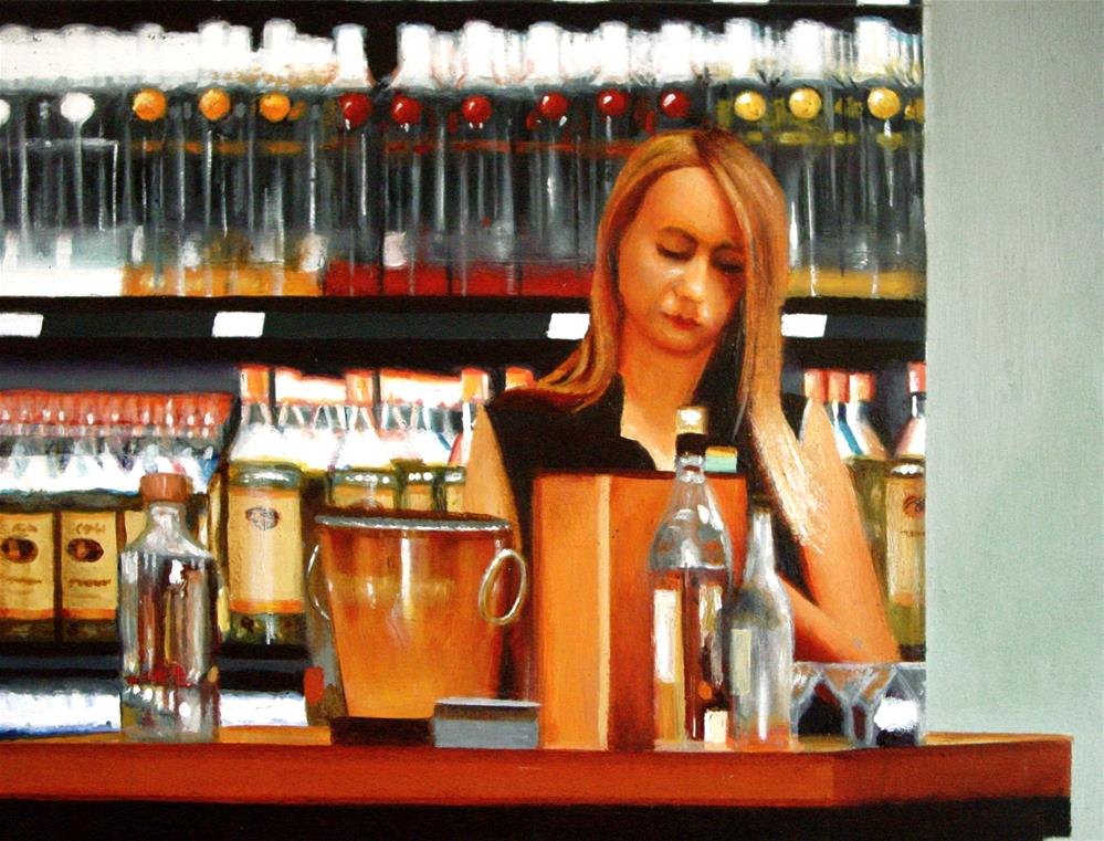 """Liquor Store"" original fine art by Gerard Boersma"