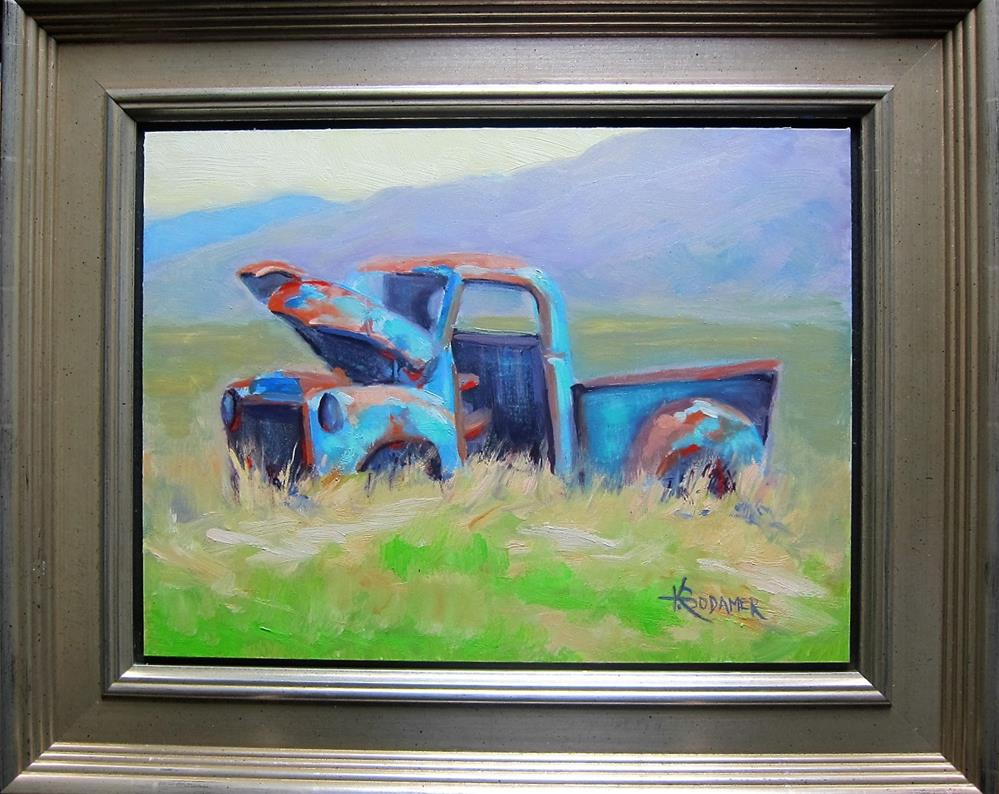 """Abandoned Too"" original fine art by Kathy Bodamer"