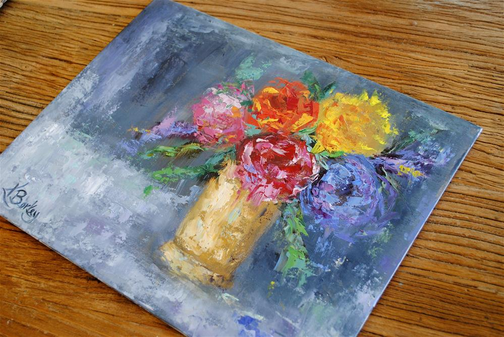 """Bold Bouquet"" original fine art by Kelly Berkey"