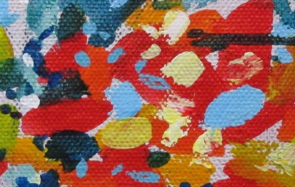"""""""The Red of Oak by Larry Lerew 150201"""" original fine art by Larry Lerew"""