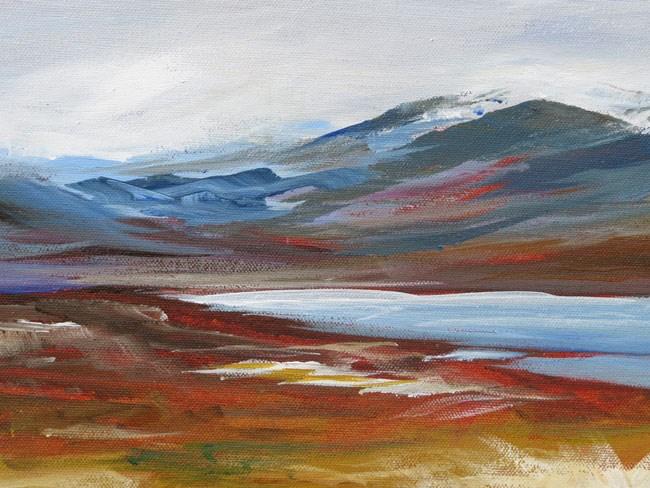 """Ullapool Wilderness"" original fine art by Susan Mackenzie"