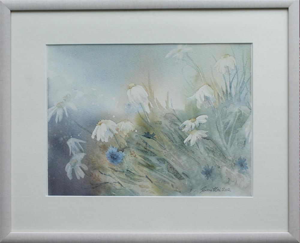 """A Frosty Morning"" original fine art by Emilia Leinonen"