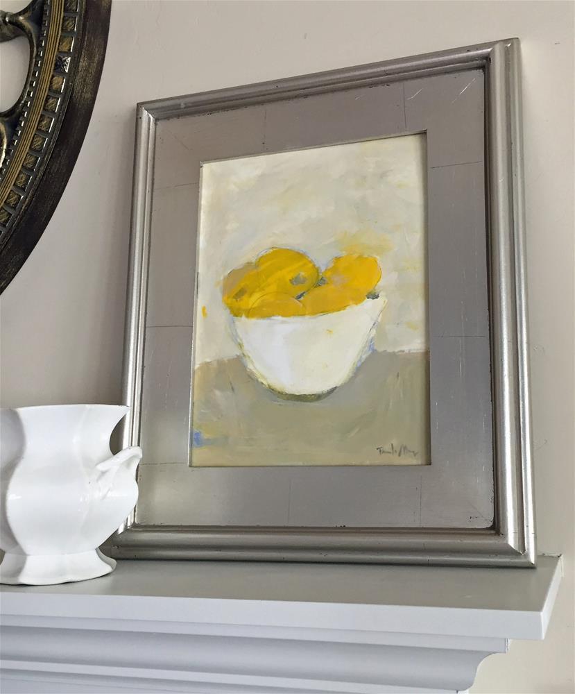 """""""Bowl of Lemons"""" original fine art by Pamela Munger"""