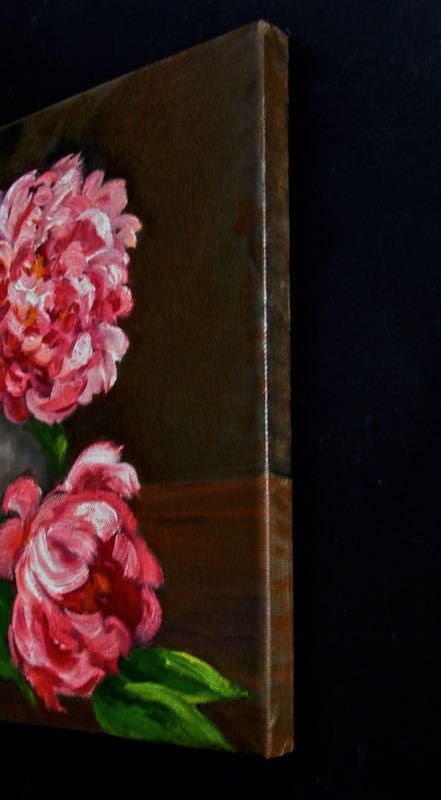 """Peonies"" original fine art by Patricia Musgrave"