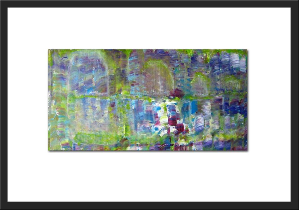 """Alone In The Garden"" original fine art by Alina Frent"