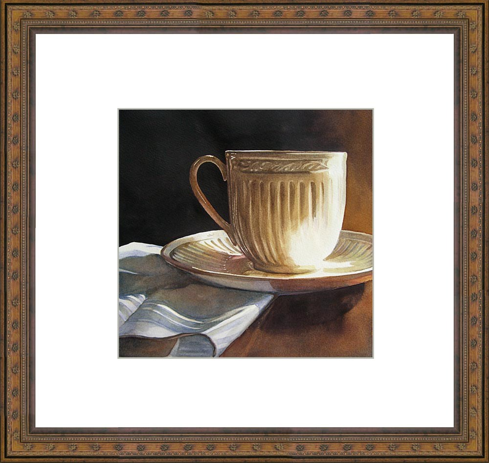 """Grandmother's Tea"" original fine art by Kara K. Bigda"